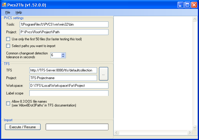Step-By-Step | PVCS to TFS migration tool