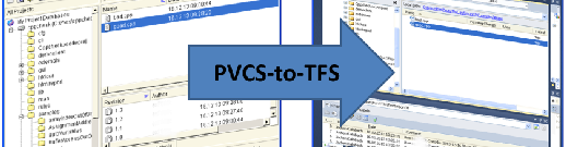 PVCS to TFS migration tool